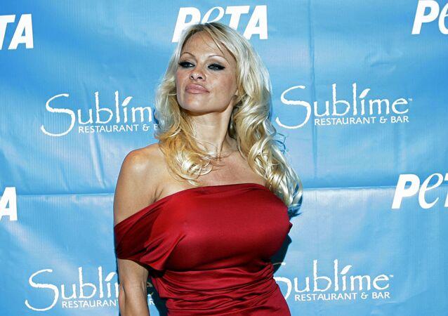 La actriz Pamela Anderson
