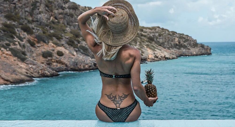 Adrienne Koleszar, bautizada como la 'policía más sexy' de Alemania
