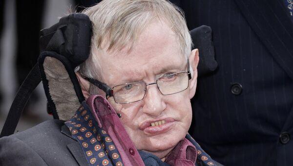 El físico Stephen Hawking - Sputnik Mundo