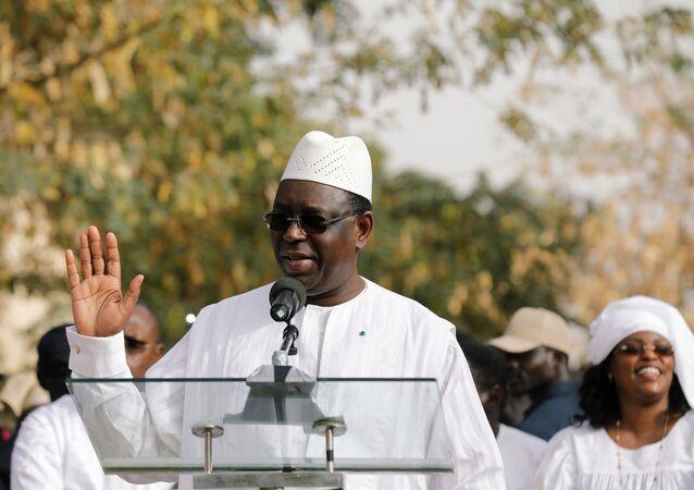 Macky Sall, el presidente de Senegal