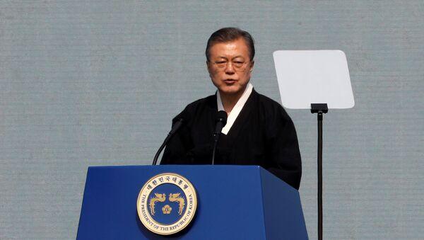 Moon Jae-in, el presidente de Corea del Sur - Sputnik Mundo