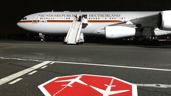 Un avión del Gobierno alemán - Sputnik Mundo