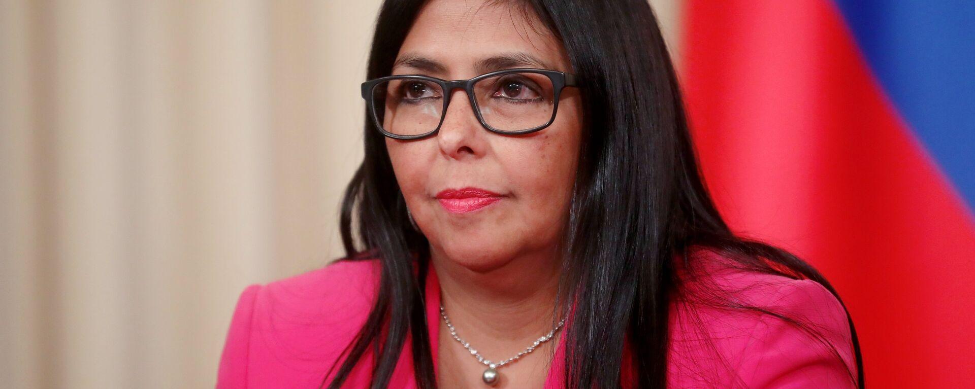 Delcy Rodríguez, vicepresidenta de Venezuela - Sputnik Mundo, 1920, 27.05.2021