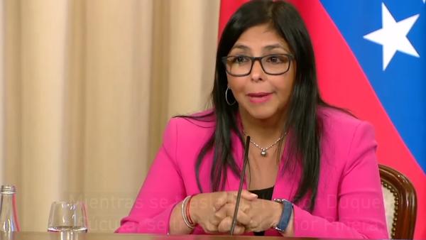 La vicepresidenta de Venezuela cuenta una anécdota de la oposición - Sputnik Mundo