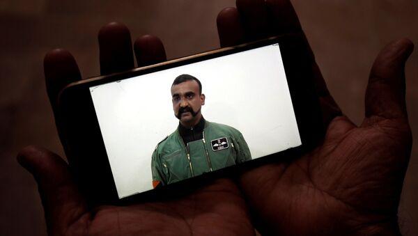Abhinandan Varthaman, piloto indio - Sputnik Mundo
