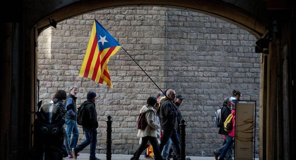 Los independentista en Barcelona (archivo)