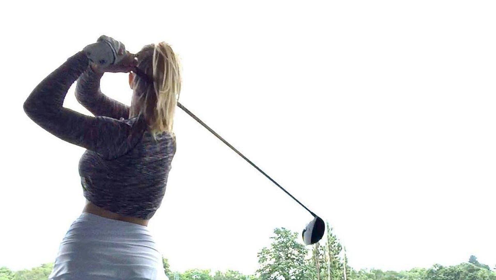La golfista británica Lucy Robson - Sputnik Mundo, 1920, 02.03.2019