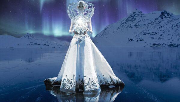 Una reina de hielo (imagen referencial) - Sputnik Mundo