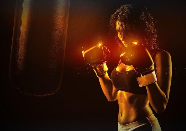 Boxeadora (imagen referencial)