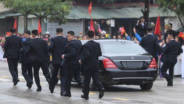Los guardaespaldas de Kim Jong-un - Sputnik Mundo
