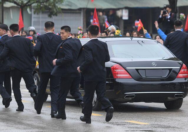 Los guardaespaldas de Kim Jong-un