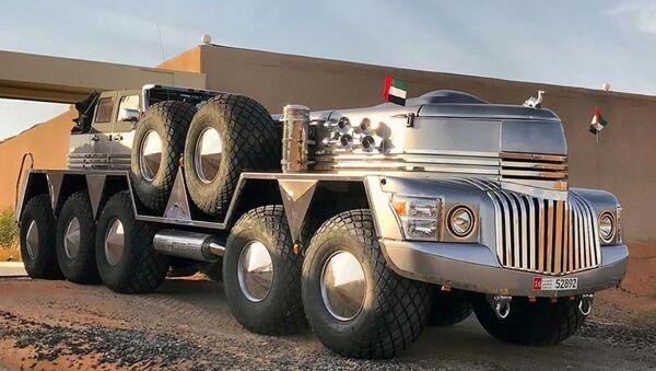 El vehículo todoterreno Dhabiyan - Sputnik Mundo