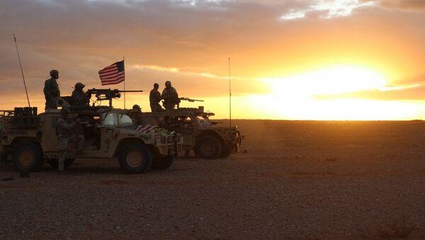 Militares de EEUU en Al Tanaf, Siria - Sputnik Mundo