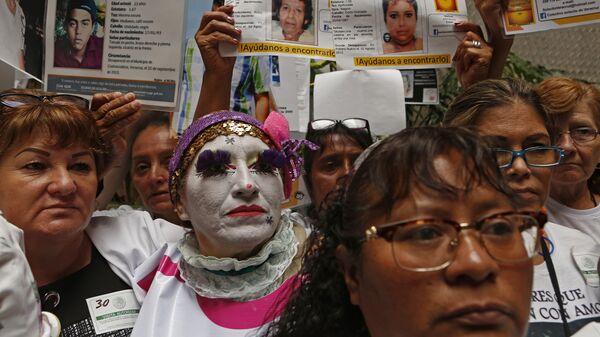 Madres de desaparecidos en México - Sputnik Mundo