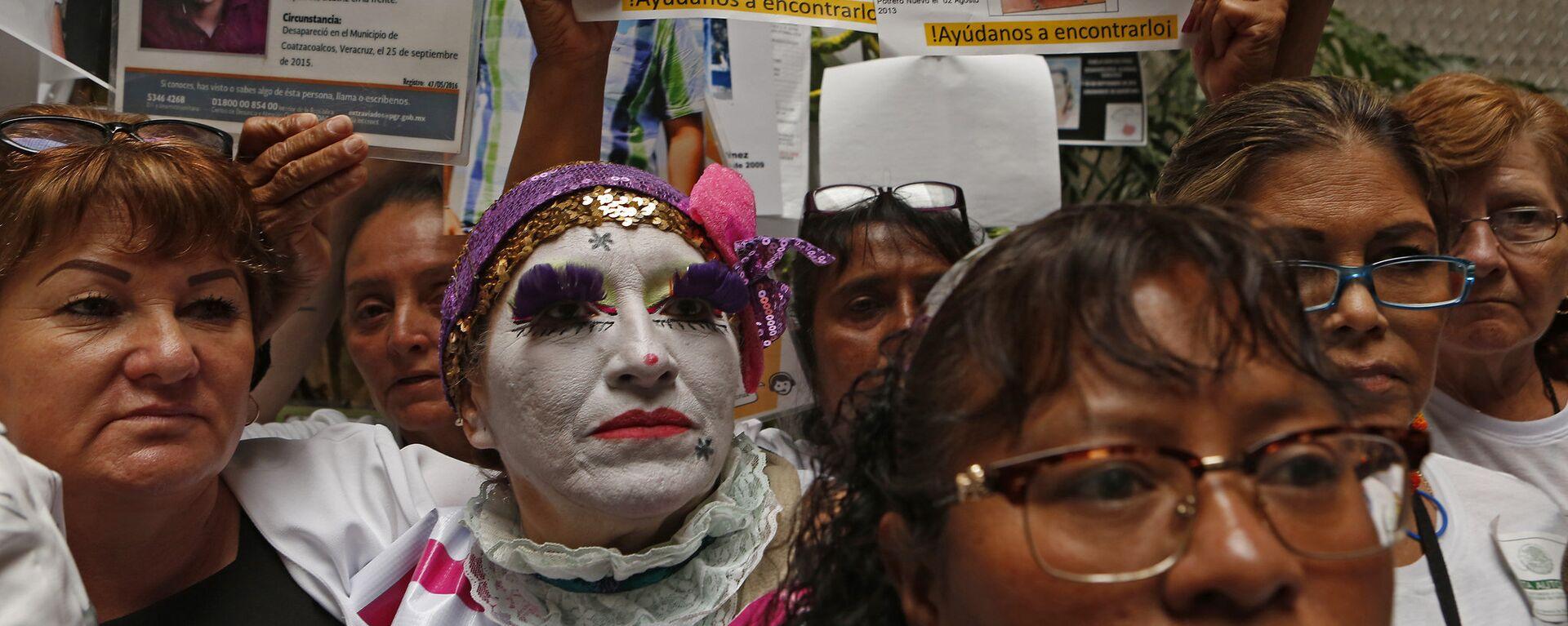 Madres de desaparecidos en México - Sputnik Mundo, 1920, 04.03.2019