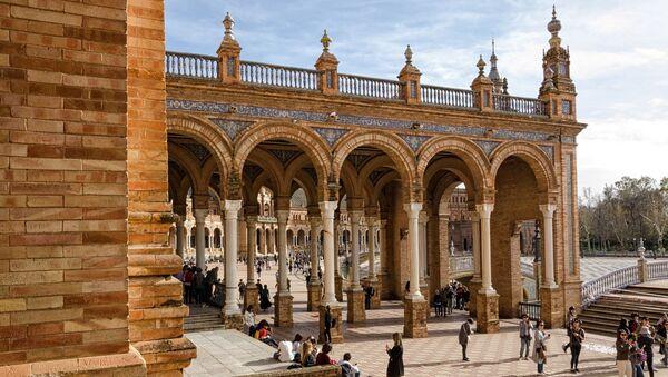La Plaza de España en Sevilla, España - Sputnik Mundo