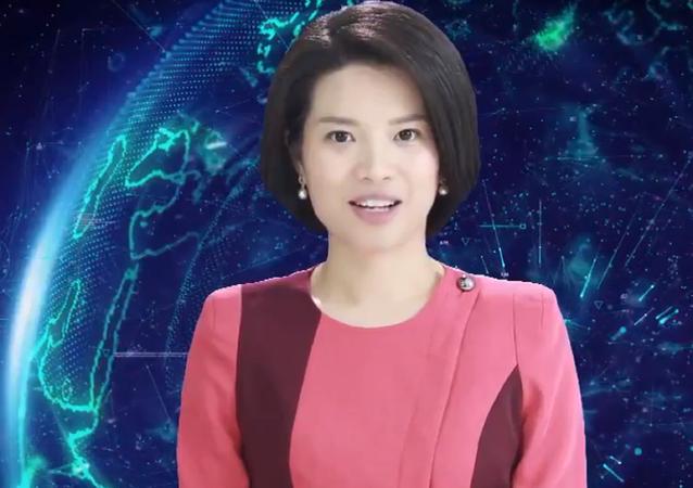 La agencia de noticias de China Xinhua introduce en su plantilla a la primera robot presentadora del mundo.