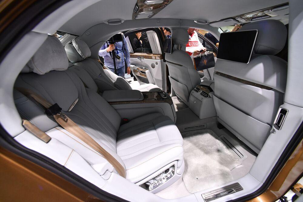 Aurus Senat en el Salón del Automóvil de Ginebra