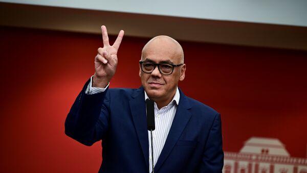 Jorge Rodríguez, ministro de Comunicación e Información de Venezuela - Sputnik Mundo
