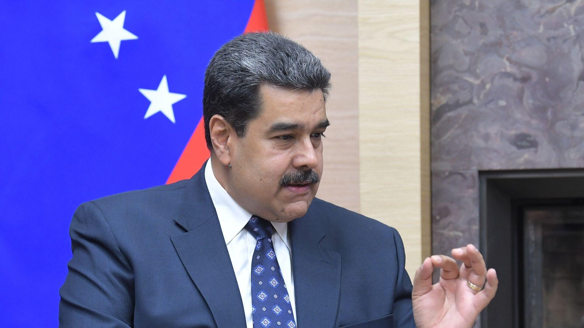 Nicolás Maduro, presidente de Venezuela - Sputnik Mundo, 1920, 21.02.2021