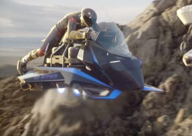 Moto voladora Speeder