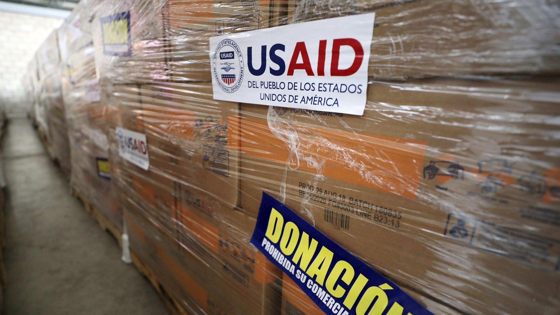 Ayuda humanitaria de EEUU - Sputnik Mundo, 1920, 25.03.2021