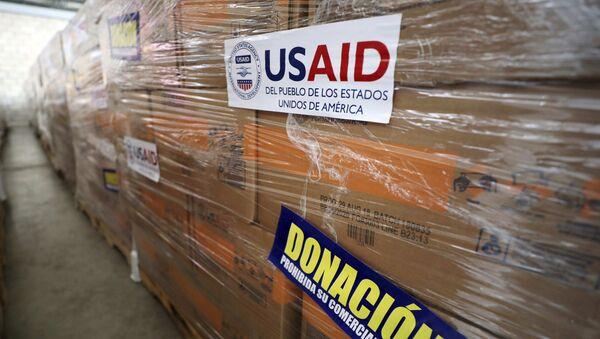 Ayuda humanitaria de EEUU - Sputnik Mundo