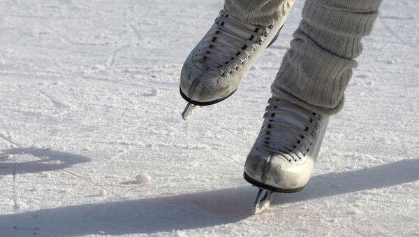 Patines de hielo, referencial - Sputnik Mundo