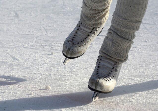 Patines de hielo, referencial