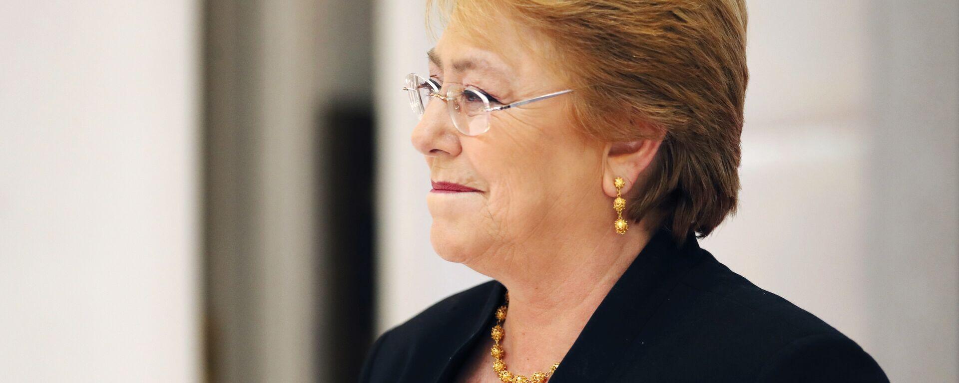 La Alta Comisionada de la ONU para los Derechos Humanos, Michelle Bachelet - Sputnik Mundo, 1920, 28.05.2021