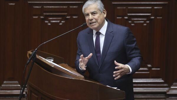 César Villanueva, exprimer ministro de Perú - Sputnik Mundo