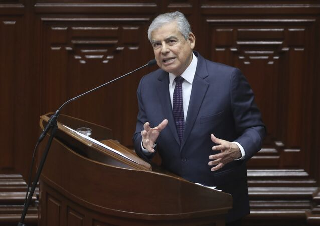 César Villanueva, exprimer ministro de Perú