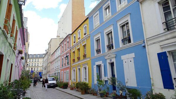 La calle Crémieux, en París. - Sputnik Mundo