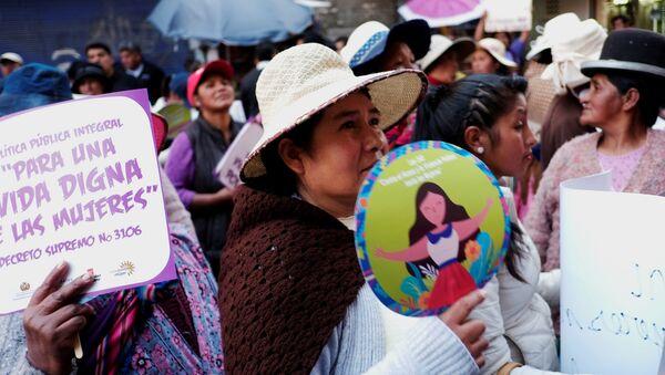 Día Internacional de la Mujer en Bolivia - Sputnik Mundo