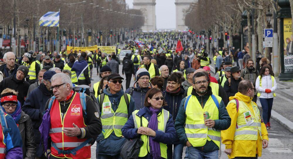 Las protestas de 'chalecos amarillos' en Francia