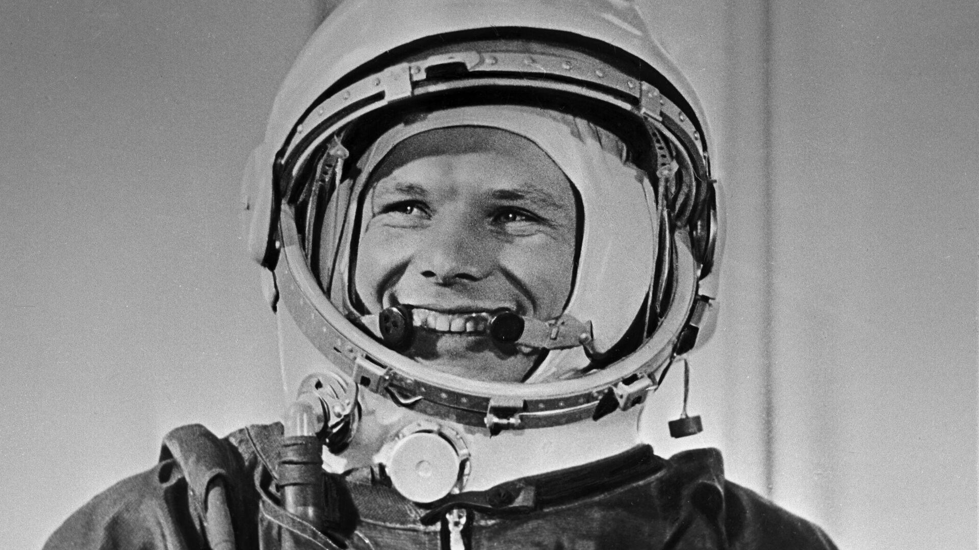 Yuri Gagarin, cosmonauta soviético  - Sputnik Mundo, 1920, 09.04.2021