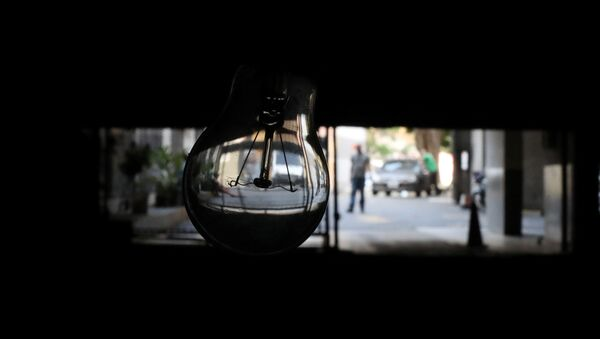 El apagón en Caracas - Sputnik Mundo