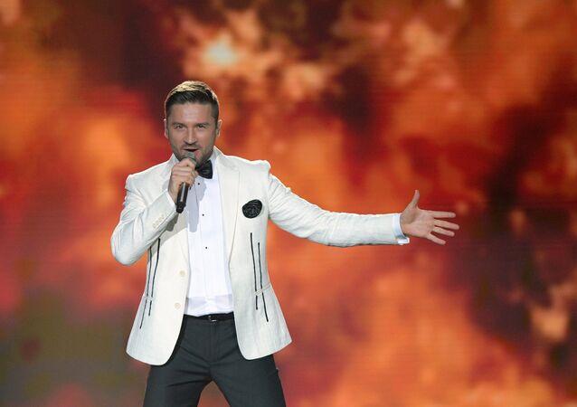 Serguéi Lázarev, cantante ruso
