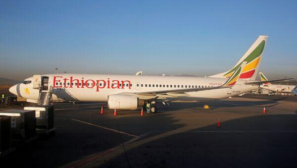 Un Boeing 737 de Ethiopian Airlines - Sputnik Mundo