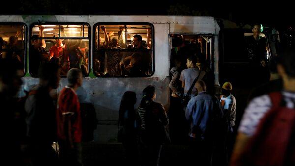 Apagón en Caracas - Sputnik Mundo
