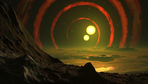 Dos estrellas (ilustración) - Sputnik Mundo