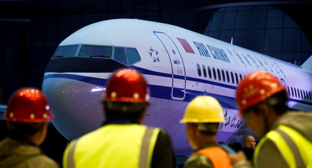 Boeing 737-8 de Air China