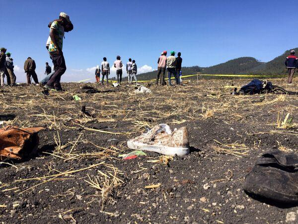 La terrible tragedia aérea en Etiopía que dejó 157 víctimas fatales - Sputnik Mundo