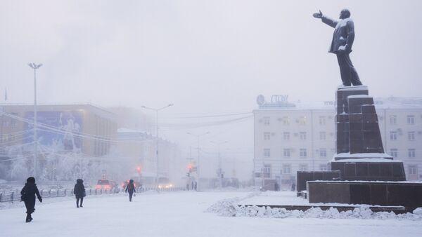 Invierno en Yakutia (archivo) - Sputnik Mundo