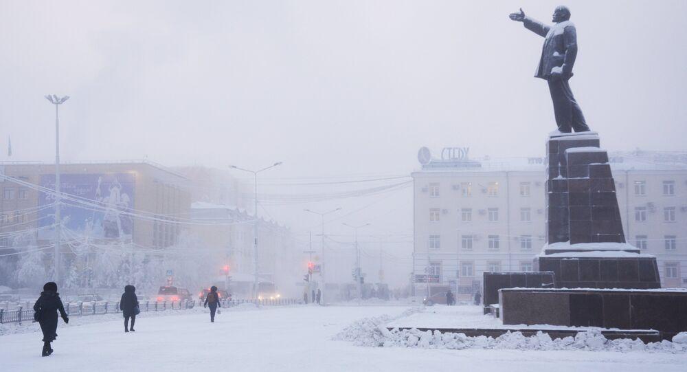 Invierno en Yakutia (archivo)