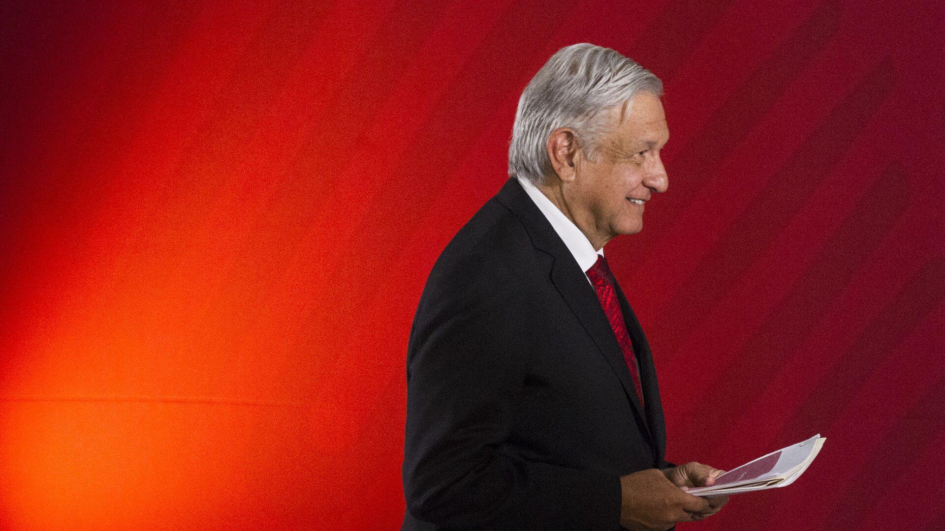 Andrés Manuel López Obrador, presidente de México - Sputnik Mundo, 1920, 06.08.2020
