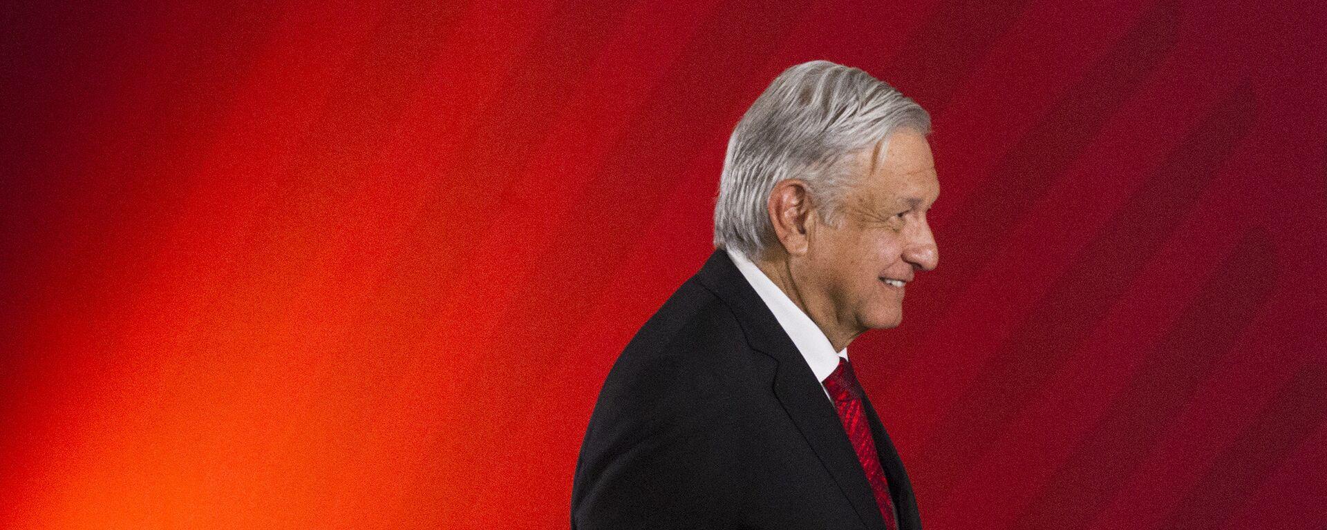 Andrés Manuel López Obrador, presidente de México - Sputnik Mundo, 1920, 03.08.2021
