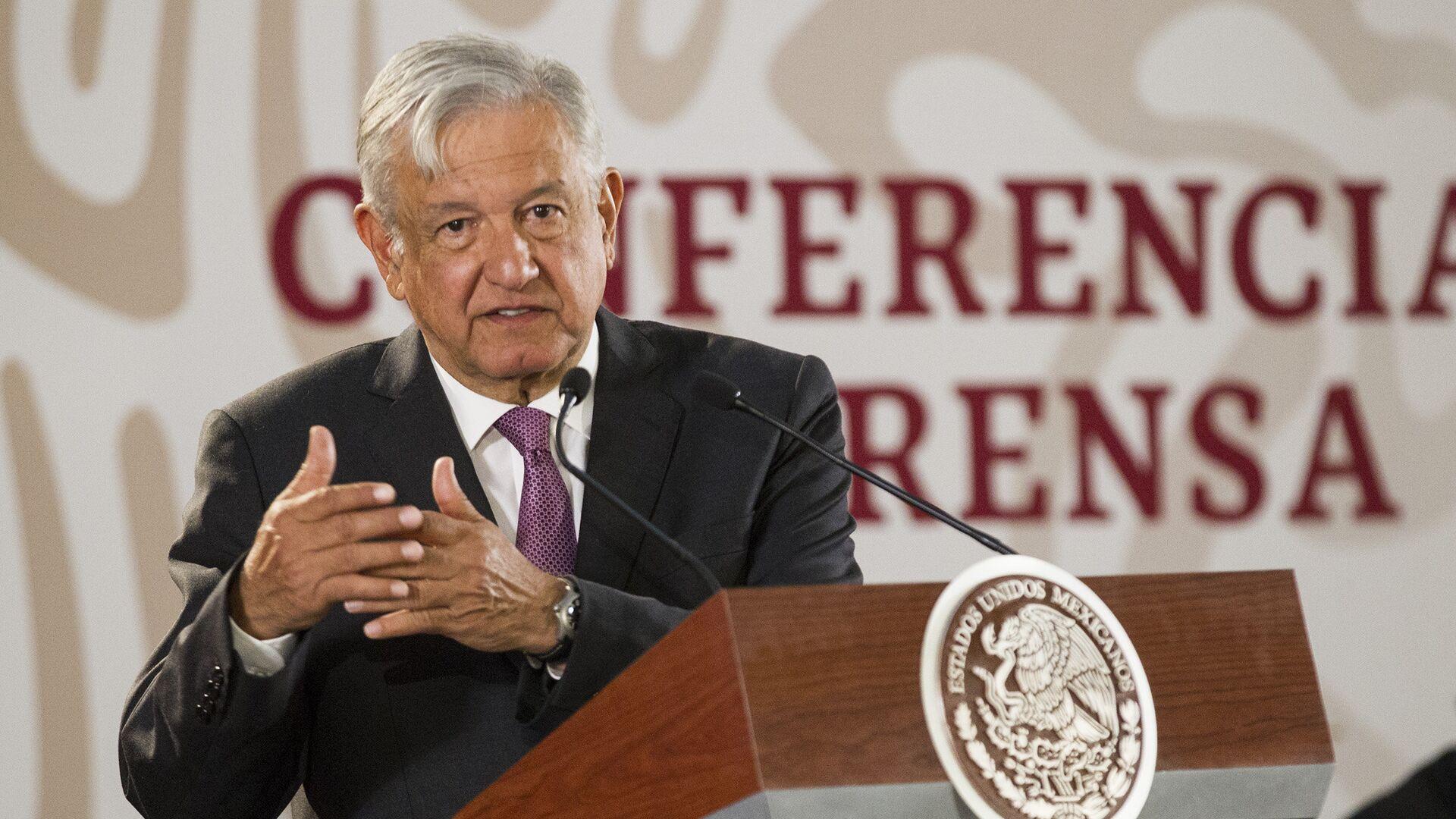 Andrés Manuel López Obrador, presidente de México - Sputnik Mundo, 1920, 22.07.2021