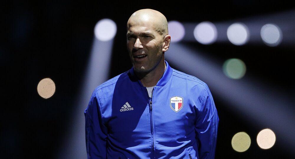 Zinedine Zidane, exfutbolista y entrenador francés (archivo)