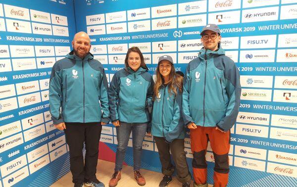 Agustina Pardo, la primera atleta argentina de snowboard en participar en una Universiada de Invierno - Sputnik Mundo